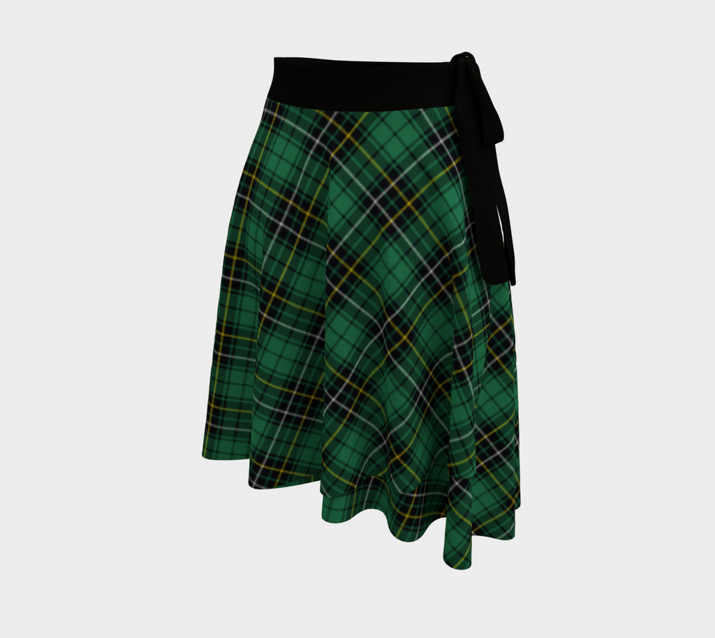 MacAlpine Ancient Tartan Wrap Skirt