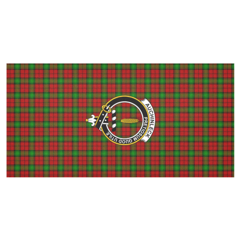 Auchinleck  Clan Badge Tartan TableCloths