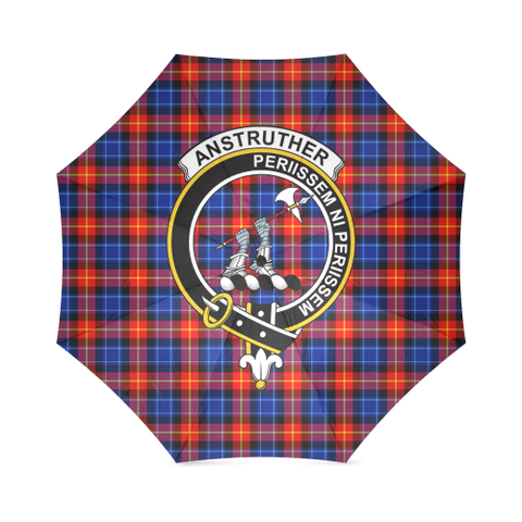 Anstruther  Clan Badge Tartan Umbrella
