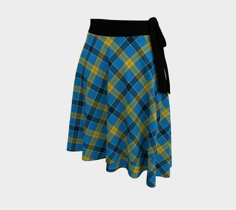 Image of Laing Tartan Wrap Skirt