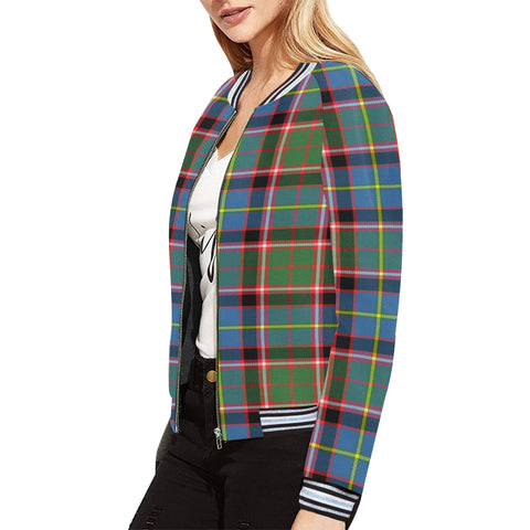 Aikenhead Tartan All Over Print Bomber Jacket H01