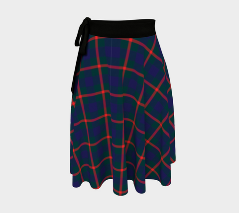 Image of Agnew Modern Tartan Wrap Skirt