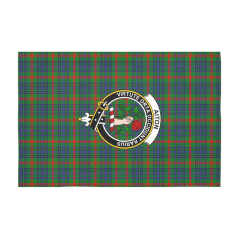 Aiton  Clan Badge Tartan TableCloths