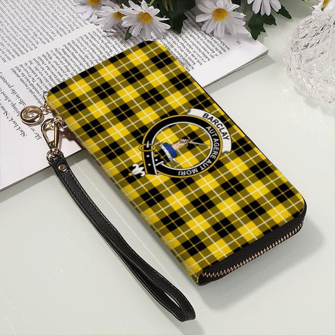 Barclay Dress  Clan Badge Tartan Zipper Wallet