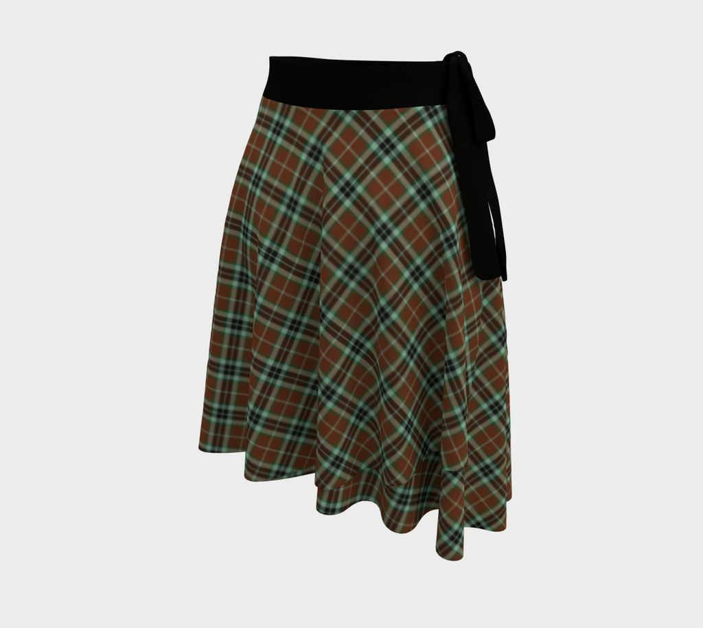 Thomson Hunting Modern Tartan Wrap Skirt