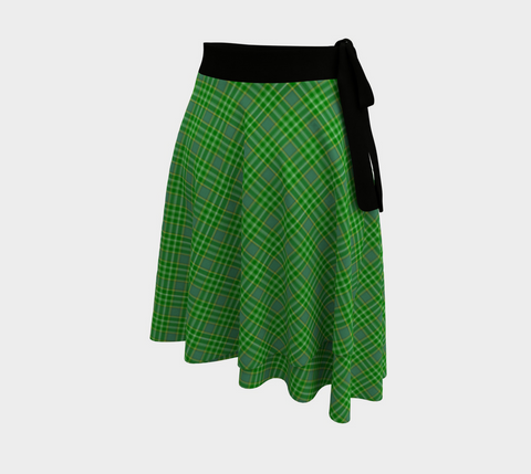 Image of Currie Tartan Wrap Skirt
