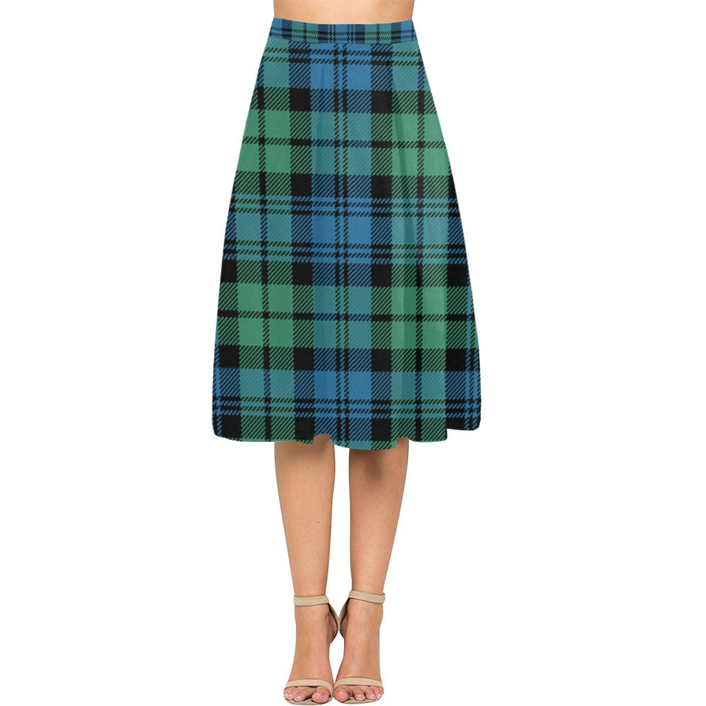 Campbell Ancient 01 Tartan Aoede Crepe Skirt