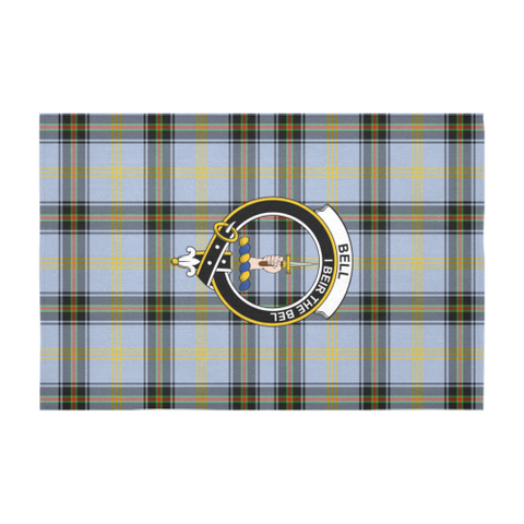 Image of Bell Of The Borders  Clan Badge Tartan TableCloths