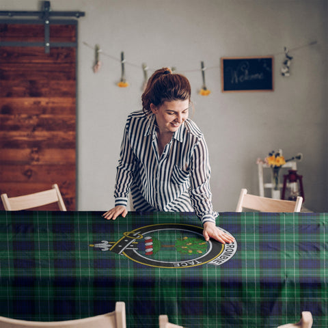 Image of Abercrombie  Clan Badge Tartan TableCloths