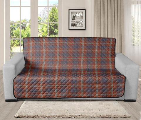 Image of Ainslie Clan Badge Tartan Sofa Protector