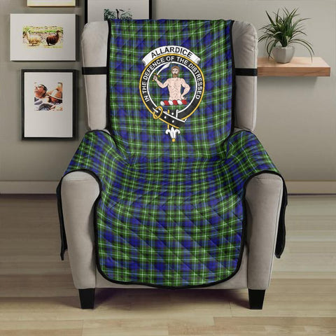 Allardice Clan Badge Tartan Sofa Protector