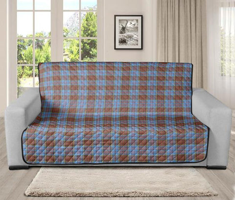 Image of Anderson Modern Clan Badge Tartan Sofa Protector