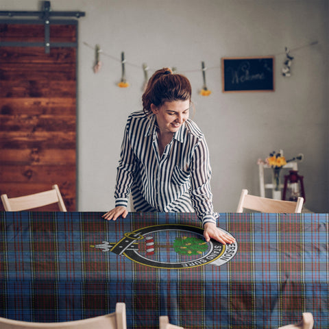 Anderson Clan Badge Tartan TableCloths