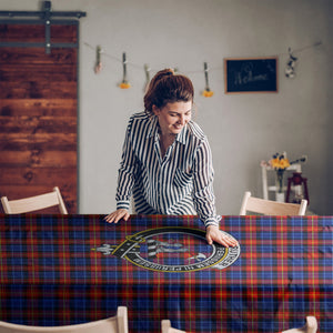 Anstruther  Clan Badge Tartan TableCloths