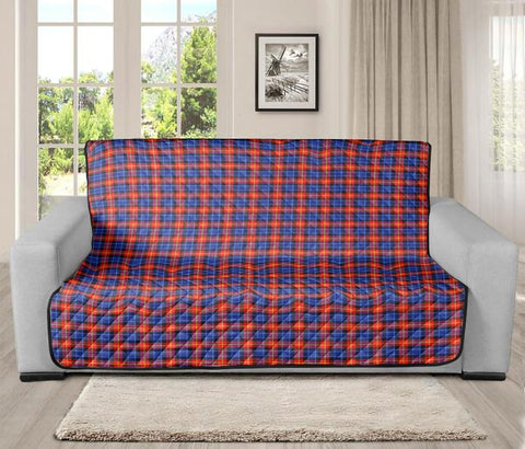 Image of Anstruther Clan Badge Tartan Sofa Protector