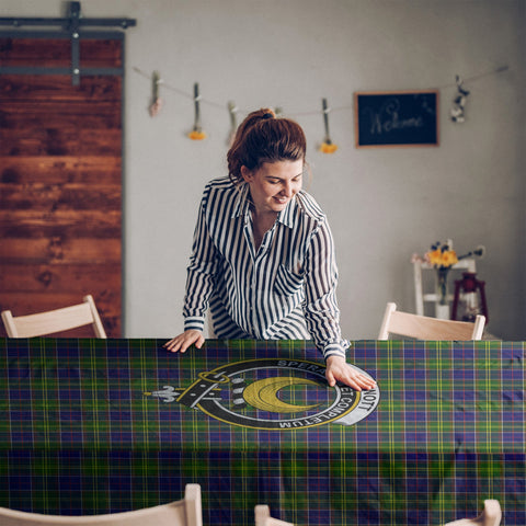 Arnott  Clan Badge Tartan TableCloths