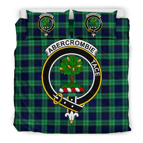 Image of Abercrombie Clan Badge Tartan Bedding Sets