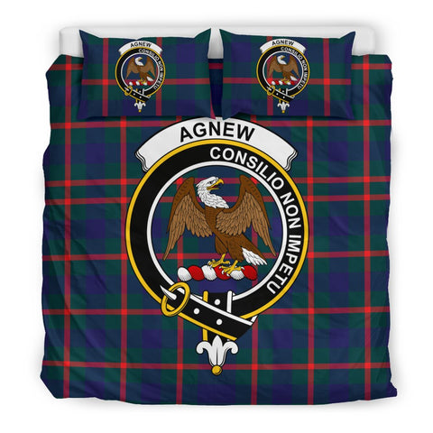 Agnew Clan Badge Tartan Bedding Sets