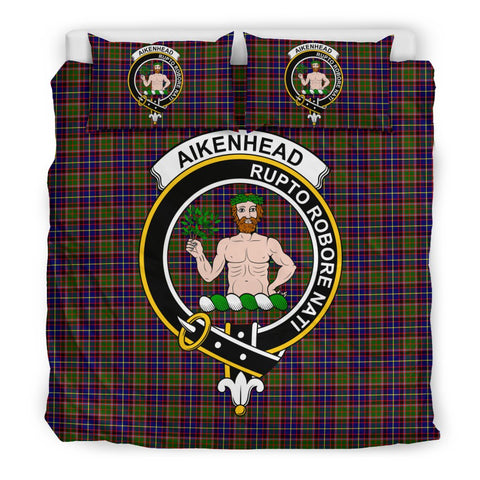 Aikenhead Clan Badge Tartan Bedding Sets