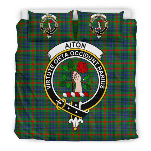 Image of Allardice Clan Badge Tartan Bedding Sets