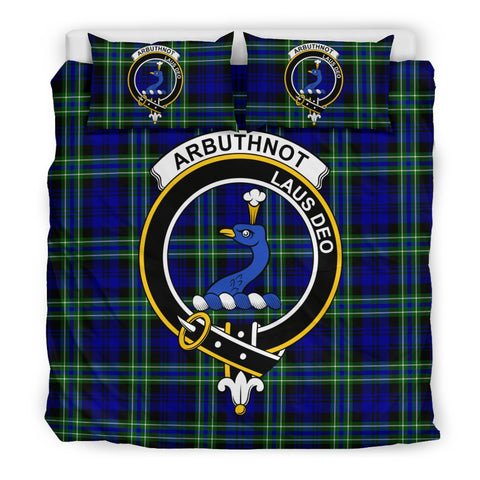 Arbuthnot Clan Badge Tartan Bedding Sets