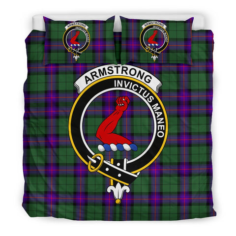 Image of Armstrong Clan Badge Tartan Bedding Sets