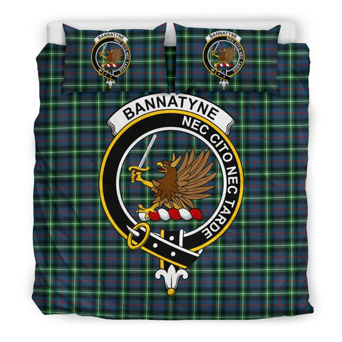Image of Bannatyn Clan Badge Tartan Bedding Sets