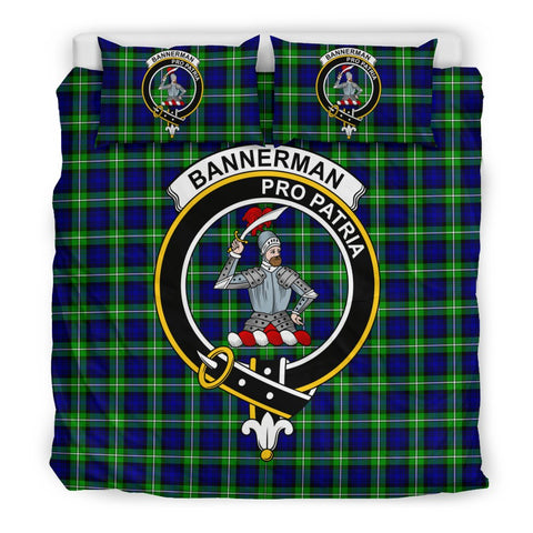 Image of Bannerman Clan Badge Tartan Bedding Sets