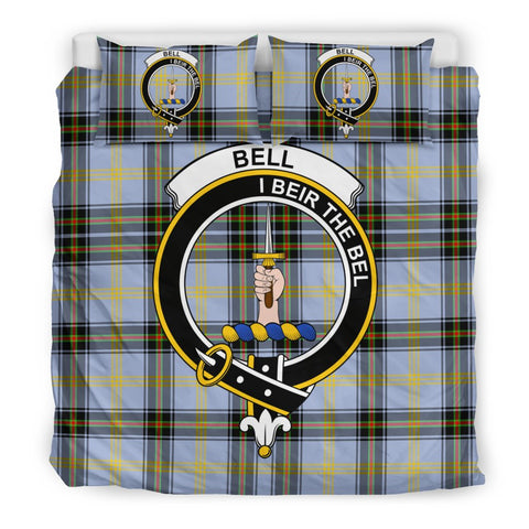Image of Bell of the Borders Clan Badge Tartan Bedding Sets