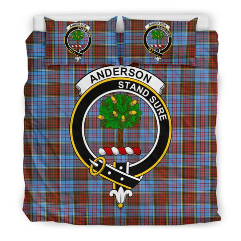 Anderson Clan Badge Tartan Bedding Sets