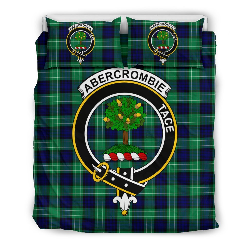 Abercrombie Clan Badge Tartan Bedding Sets