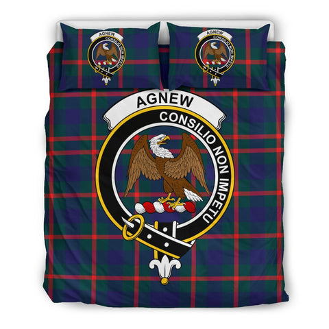 Image of Agnew Clan Badge Tartan Bedding Sets