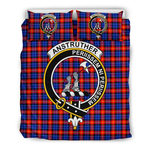 Anstruther Clan Badge Tartan Bedding Sets