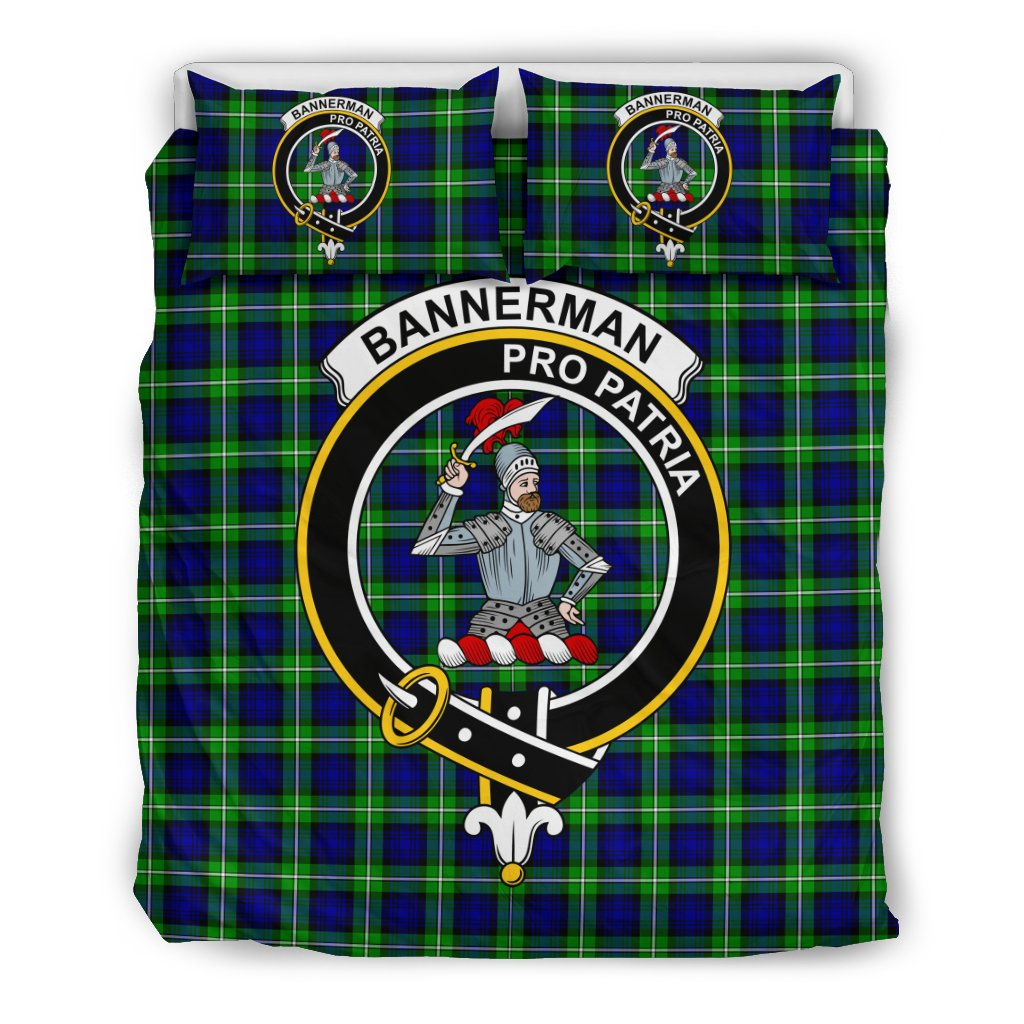 Bannerman Clan Badge Tartan Bedding Sets