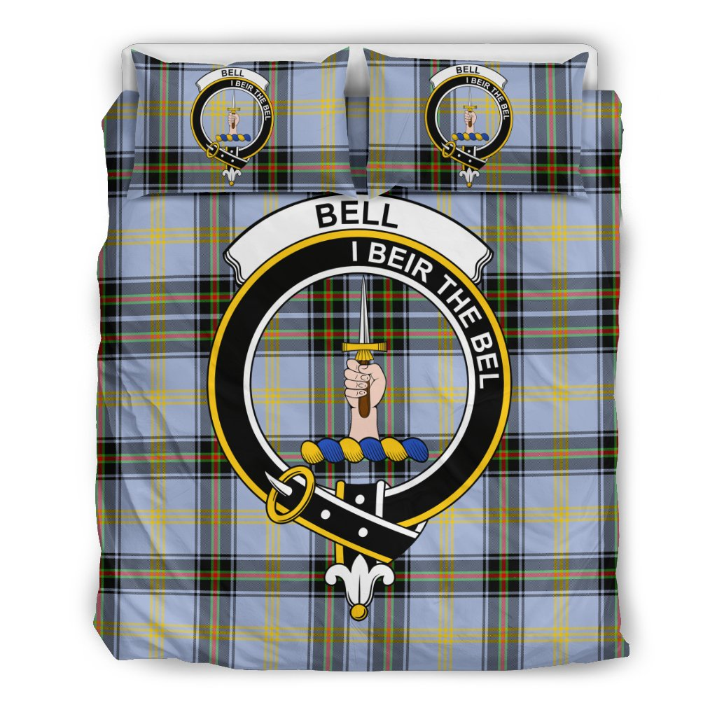 Bell of the Borders Clan Badge Tartan Bedding Sets