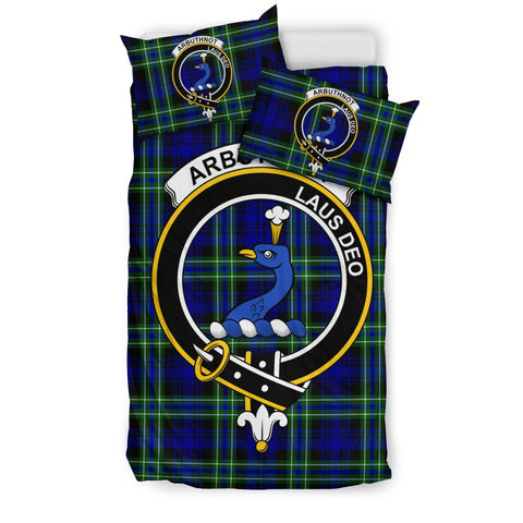 Image of Arbuthnot Clan Badge Tartan Bedding Sets