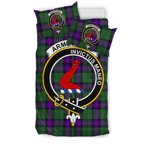 Armstrong Clan Badge Tartan Bedding Sets