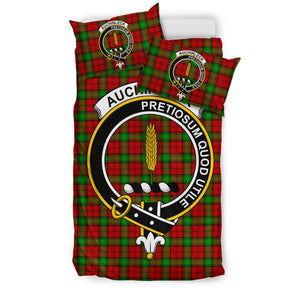 Auchinleck Clan Badge Tartan Bedding Sets