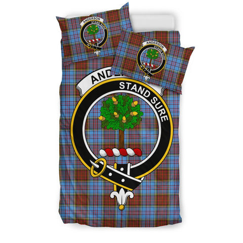 Image of Anderson Clan Badge Tartan Bedding Sets