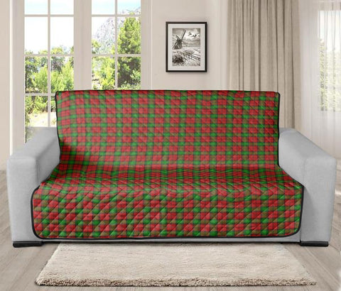 Image of Auchinleck Clan Badge Tartan Sofa Protector