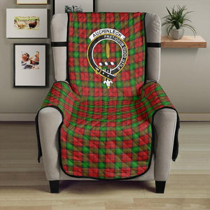 Auchinleck Clan Badge Tartan Sofa Protector