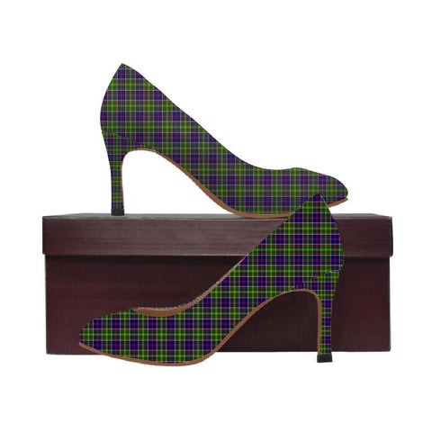 Image of Ayrshire District Tartan Women High Heels