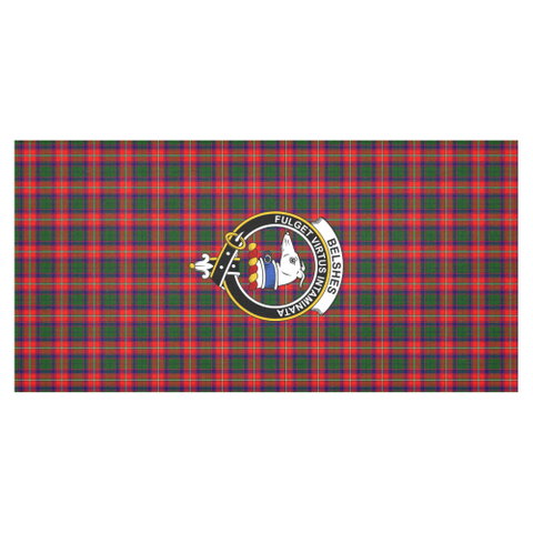 Image of Belshe  Clan Badge Tartan TableCloths