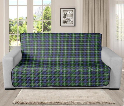 Image of Baillie Modern Clan Badge Tartan Sofa Protector