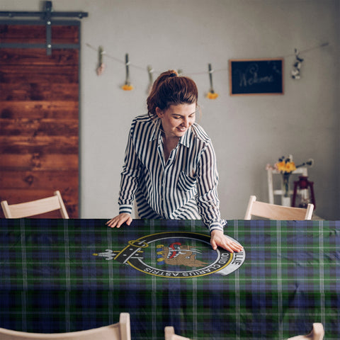 Baillie Clan Badge Tartan TableCloths