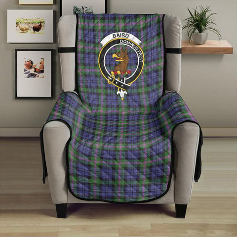 Image of Baird Modern Clan Badge Tartan Sofa Protector