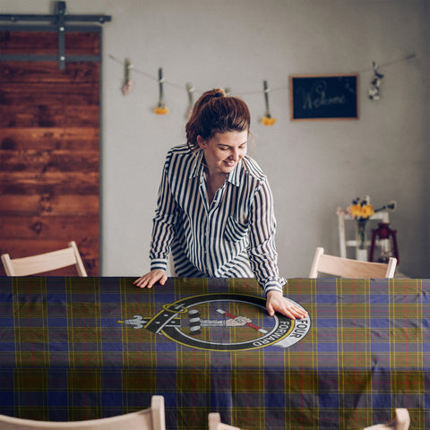 Image of Balfour Clan Badge Tartan TableCloths