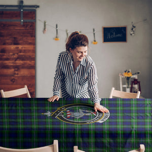 Bannerman  Clan Badge Tartan TableCloths
