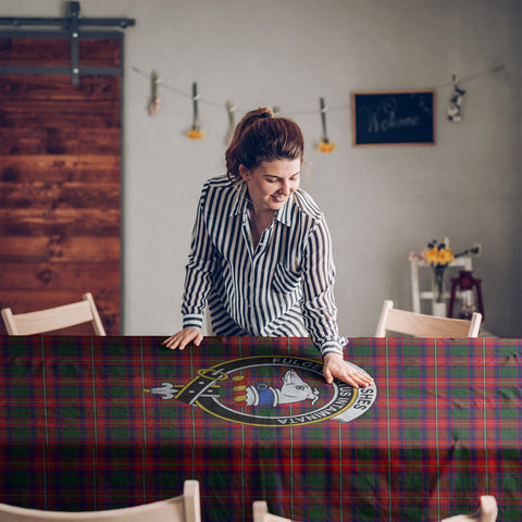 Belshe  Clan Badge Tartan TableCloths