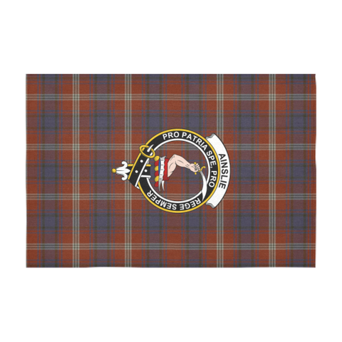 Ainslie  Clan Badge Tartan TableCloths
